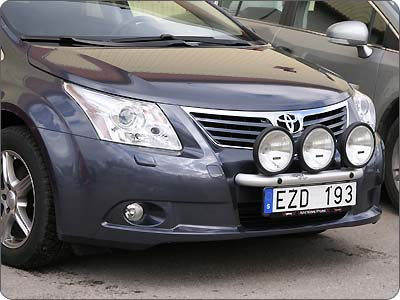 Toyota avensis lights