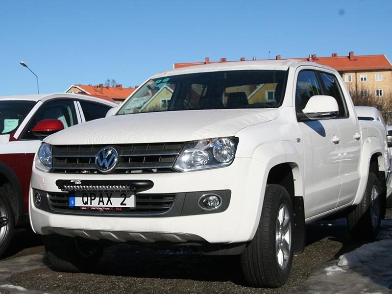 Q led vw amarok 11 led light bar bracket extraljuskungen q led vw amarok 11 led light bar bracket aloadofball