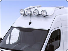 T-rack VW Crafter 07- Front H3