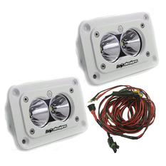 S2 Pro LED Light 21W, Flush Mount, White, 2-pack