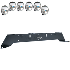 Rally 6, Auxillary Light Bracket, 6 lights  ₒᵒᵒᵒᵒₒ (max 175mm)