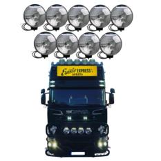 NBB 225 Xenon 60W 24V Integrated ballast 9-truck pack