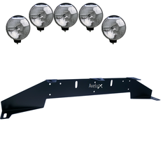 Rally 5, Auxillary Light Bracket, 5 lights (max 225mm)