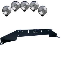 Rally 5, Auxillary Light Bracket, 5 lights  ₒᵒᵒᵒₒ (max 225mm)