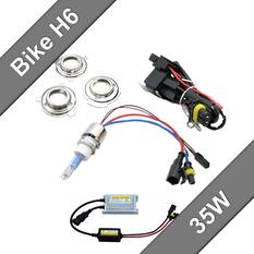 Motorbike Xenon HID Kit Slim 35W H6-S