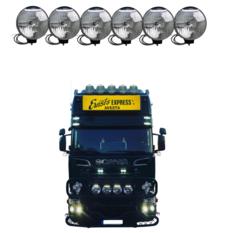 NBB 225 Xenon 60W 24V Integrated ballast 6-truck pack