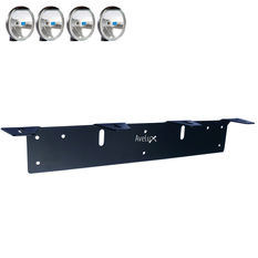 Auxillary Light Bracket, 4 lights (max 175mm)