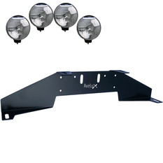 Rally 4, Auxillary Light Bracket, 4 lights (max 225mm)