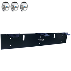 Auxillary Light Bracket, 3 lights ᵒᵒᵒ (140-180mm)