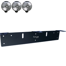 Auxillary Light Bracket, 3 lights ᵒᵒᵒ (210-225mm)