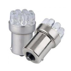 BA15S  9 LED 24V 2-pack