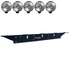 Auxillary Light Bracket, 5 lights (max 225mm)