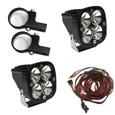 "Squadron Pro, Kit (Lights, Horiz Mounts 1.75"", Harness)"