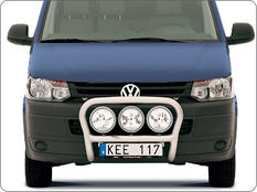 X-rack VW Transporter 10-15 For 3pc lights
