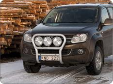 X-rack VW Amarok 11- For 3pc lights
