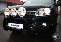 EU Bullbar [Black] - VW Amarok 11-16