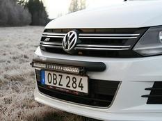Q-LED VW Tiguan Sport & Style 12-  LED Light Bar Bracket