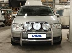 STOR TRIO frontbåge - VW Touran 2003-2010